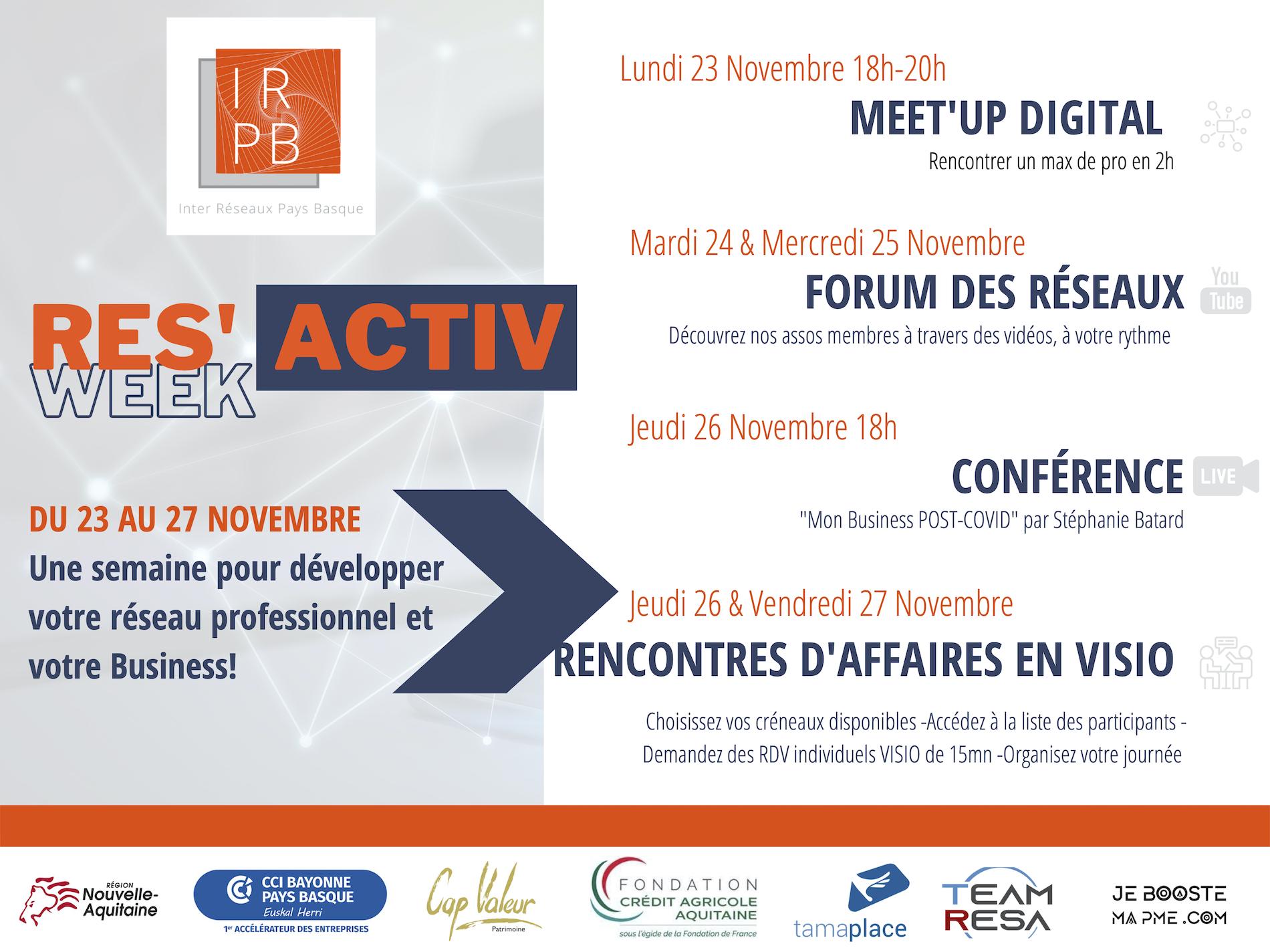 Affiche forum 2020 IRPB